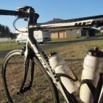 fiets klaar voor vetrek